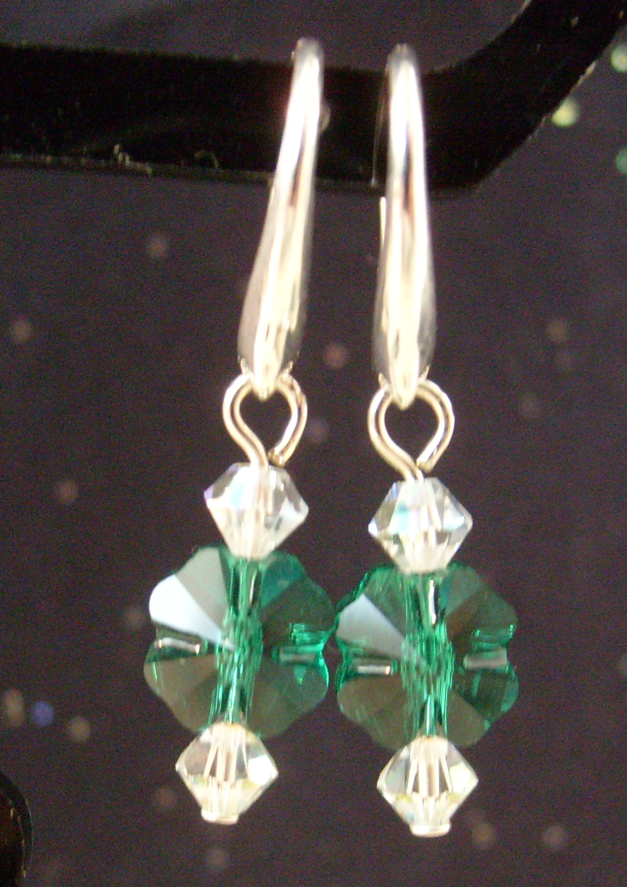You do not have to be Irish to wear these earrings